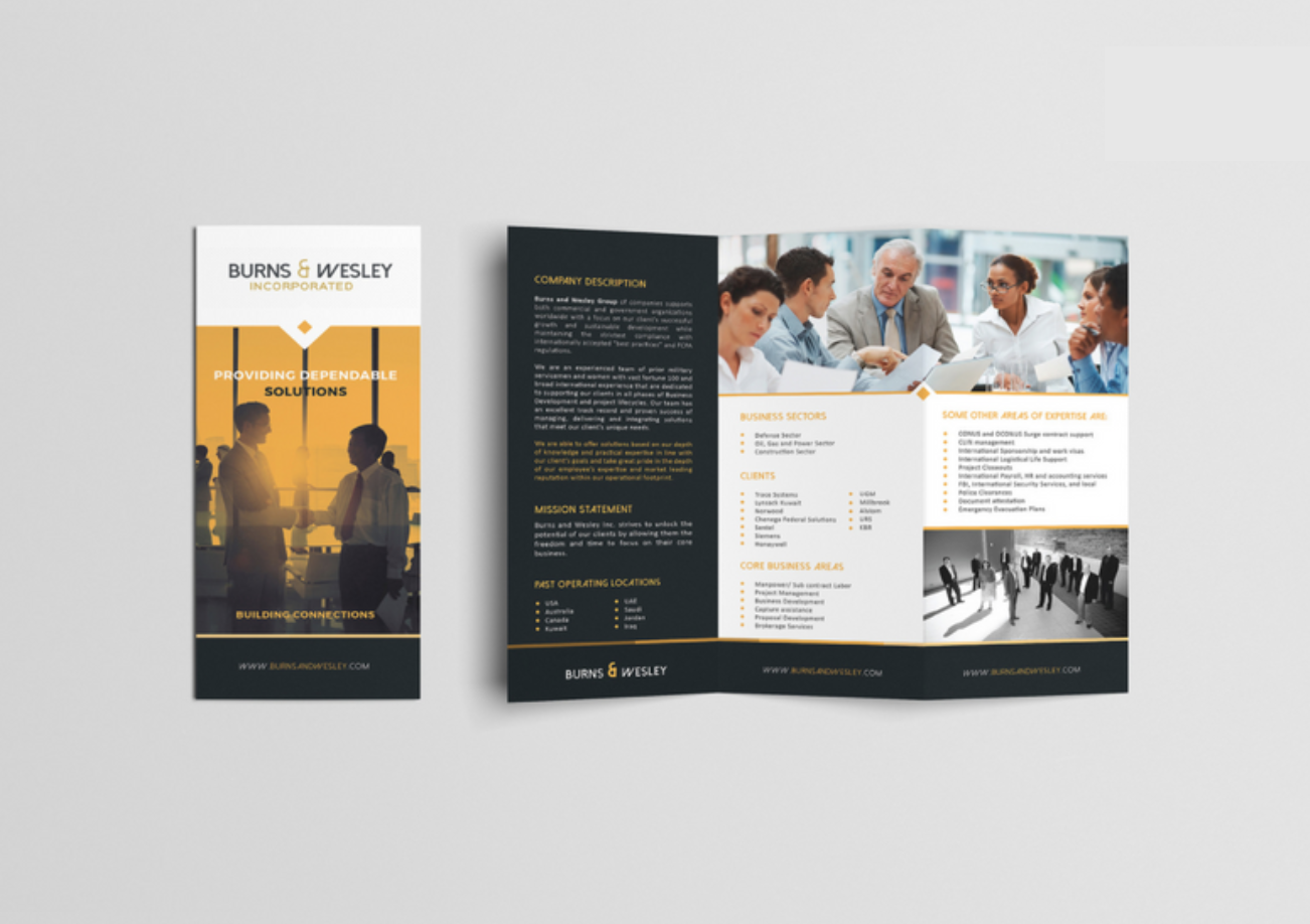 create a trifold brochure online